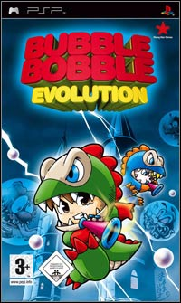 Okładka Bubble Bobble Evolution (PSP)