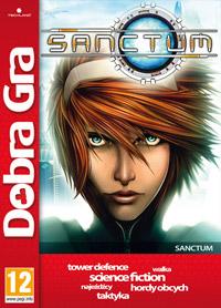 Okładka Sanctum (PC)