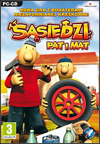 Okładka Pat & Mat: The Game (PC)