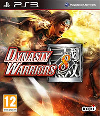 Dynasty Warriors 8 (PS3 cover