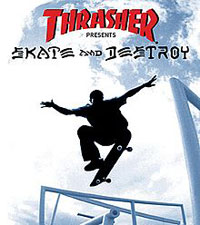 Game Box for Thrasher Presents Skate and Destroy (PS1)