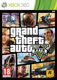 Game Grand Theft Auto V (PS3) cover
