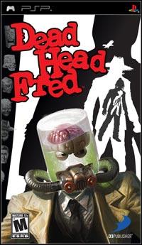 Okładka Dead Head Fred (PSP)
