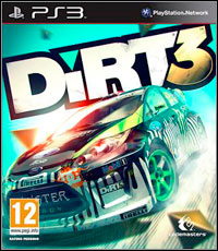 Game DiRT 3 (PS3) cover