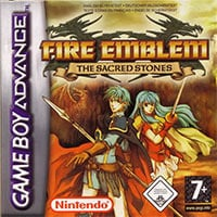 Game Box for Fire Emblem: The Sacred Stones (GBA)