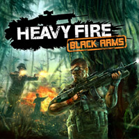 Game Box for Heavy Fire: Black Arms (Wii)