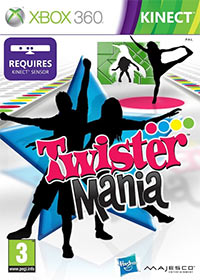 Game Box for Twister Mania (X360)