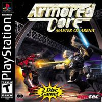Okładka Armored Core: Master of Arena (PS1)