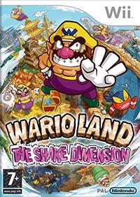 Okładka Wario Land: Shake It! (Wii)