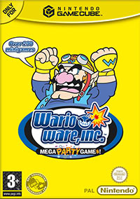 Game Box for WarioWare Inc.: Mega Party Game$ (GCN)