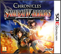 Okładka Samurai Warriors: Chronicles (3DS)