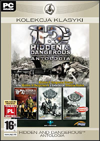 Game Hidden and Dangerous: Antologia (PC) cover