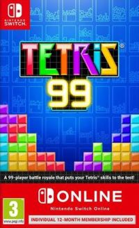 Game Box for Tetris 99 (Switch)