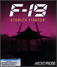 Okładka F-19 Stealth Fighter (PC)