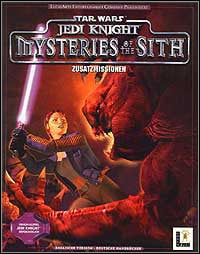 Game Box for Star Wars Jedi Knight: Mysteries of the Sith (PC)