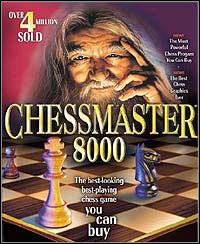 Okładka Chessmaster 8000 (PC)