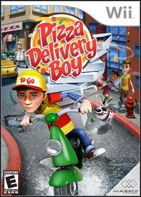 Okładka Pizza Delivery Boy (Wii)