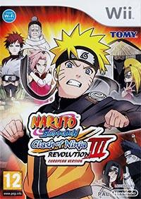 Game Box for Naruto Shippuden: Clash of Ninja Revolution 3 (Wii)