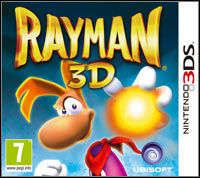 Game Box for Rayman 3D (3DS)