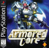 Game Box for Armored Core (PS1)