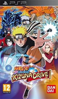 Okładka Naruto Shippuden: Kizuna Drive (PSP)