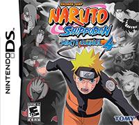 Okładka Naruto Shippuden: Ninja Council 4 (NDS)