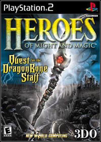 Okładka Heroes of Might and Magic: Quest for the Dragon Bone Staff (PS2)