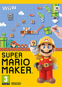 Okładka Super Mario Maker (WiiU)