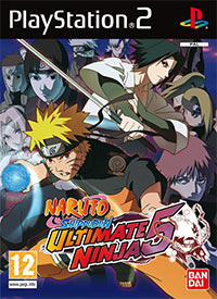 Okładka Naruto Shippuden: Ultimate Ninja 5 (PS2)