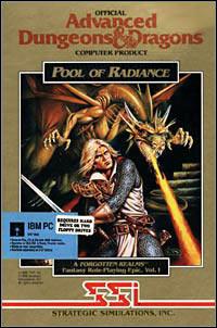 Okładka Pool of Radiance: Fantasy Role-Playing Epic Vol. I (PC)