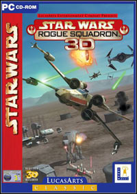 Okładka Star Wars: Rogue Squadron 3D (PC)