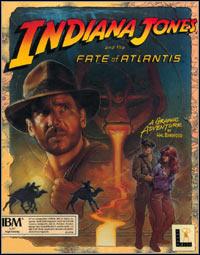 Okładka Indiana Jones and The Fate of Atlantis (PC)