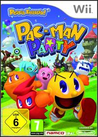 Okładka Pac-Man Party (Wii)