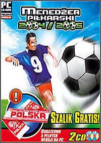 Okładka Menedzer Pilkarski 2004/2005 (PC)