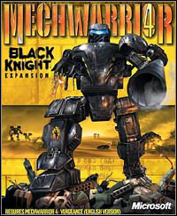 Okładka MechWarrior 4: Black Knight (PC)