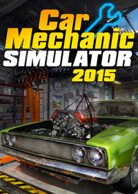 Game Box for Car Mechanic Simulator 2015 (PC)