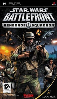 Game Box for Star Wars: Battlefront - Renegade Squadron (PSP)