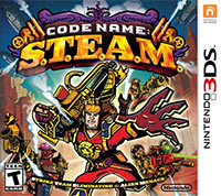 Game Box for Code Name: S.T.E.A.M. (3DS)