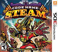 Okładka Code Name: S.T.E.A.M. (3DS)