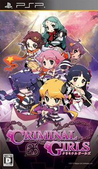 Okładka Criminal Girls (PSP)