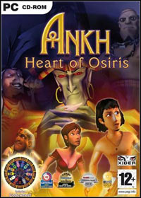 Game Box for Ankh: Heart of Osiris (PC)