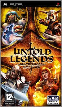 Okładka Untold Legends: Brotherhood of the Blade (PSP)