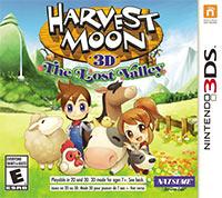 Okładka Harvest Moon: The Lost Valley (3DS)