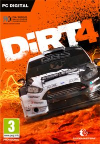 Game DiRT 4 (PC) cover