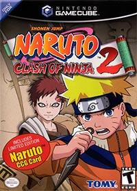 Okładka Naruto: Clash of Ninja 2 (GCN)