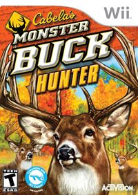 Okładka Cabela's Monster Buck Hunter (Wii)