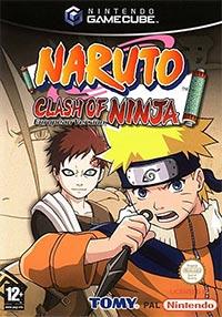 Okładka Naruto: Clash of Ninja (GCN)