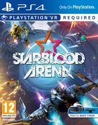 Game Box for StarBlood Arena (PS4)