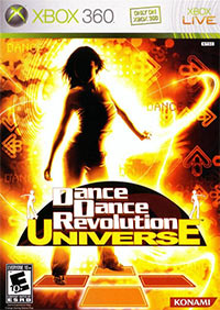 Game Box for Dance Dance Revolution Universe (X360)