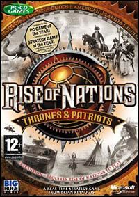 Game Box for Rise of Nations: Thrones and Patriots (PC)